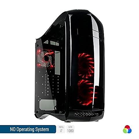 Sedatech - PC Gamer Ultimate Intel i7-7700K 4x 4.20Ghz (max 4.5Ghz), Geforce GTX 1080 8Go, 32Go RAM DDR4, 2To HDD, 250Go SSD, USB 3.1, HDMI2.0, Résolution 4K, DirectX 12, Wifi, CardReader, Alim 80+, sans
