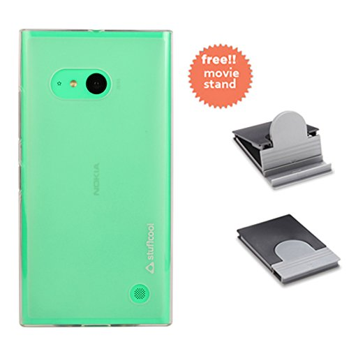 Stuffcool Lisse Soft Back Case Cover for Nokia Lumia 730 - Tinted White (LSNK730-TWHT)  available at amazon for Rs.149