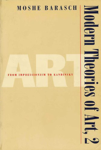 Modern Theories of Art 2: From Impressionism to Kandinsky: From Impressionism to Kadinsky