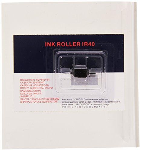 CASIO IR-40 Farbwalze schwarz für HR-8xxx (Transfer Roller)