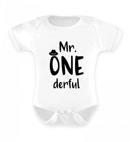 Hochwertiges Baby Body - Mr Wonderful Baby Strampler - mr Wonderful Baby - Lustiger Babyspruch - Made in Germany