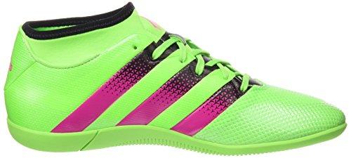 adidas Herren Ace 16.3 Primemesh in Fußballschuhe Grün / Pink / Schwarz (Versol / Rosimp / Negbas)