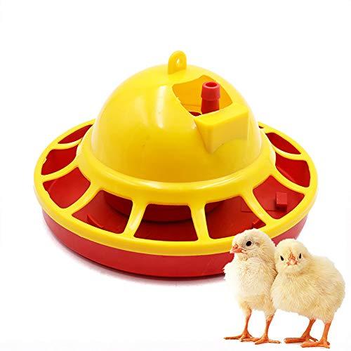 Automatische Chicken Feeder Waterer Brunnen Chick Brooder Drinkers Set Landwirtschaft Fütterung Bewässerung Versorgung Geflügel Trinker Kunststoff Schüsseln Wassertrinker Werkzeug Backyards Huhn