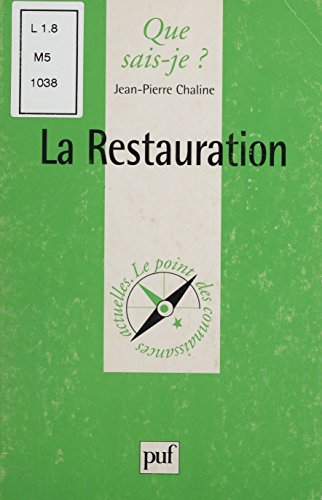 la-restauration-1814-1830