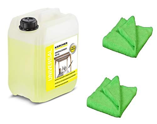 KÄRCHER Universalreinger 5 Liter Profi RM 555 6.290-697.0 + 2 professionelle Microfaser Reinigungstücher