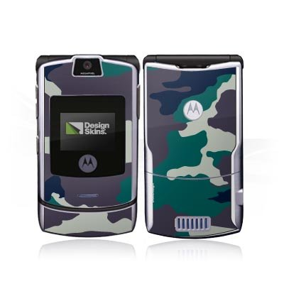 Design Skins für Motorola RAZR V3i - Woodland Design Folie [Elektronik] - Razr Handy Skins