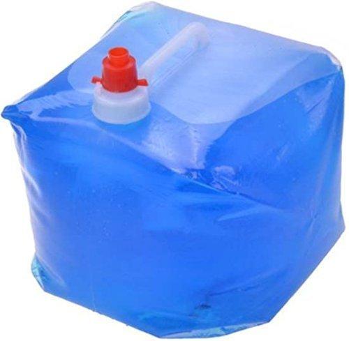Gravidus Wasserkanister faltbar 10 Liter mit Hahn und Tragegriff