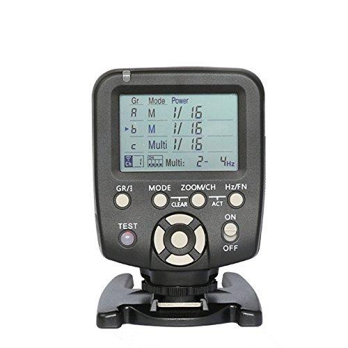 DishyKooker Yong-NUO YN560-TX LCD-Auslöser Fernbedienung für NI-kon Can-on YN560-III mit Weckfunktion für NI-kon Can-on Kameras Elektronisches...