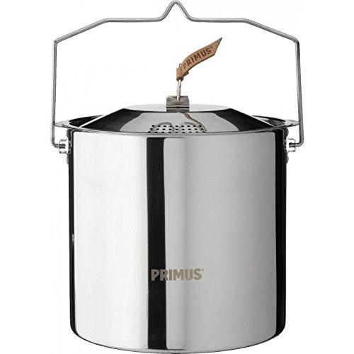 Relags Primus Edelstahltopf 'Campfire' Topf, Silber, 5 Liter