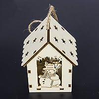 Azalea SUI Bao Árbol de Navidad con Luces Cabina Colgante Decoraciones de Navidad Creativo Colgante de Navidad al por Mayor