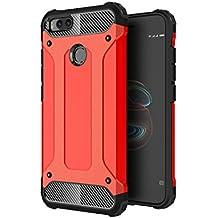 AOBOK Funda Xiaomi Mi A1, Doble Capa Híbrida Armor Funda Shock-Absorción Armadura Proteccion