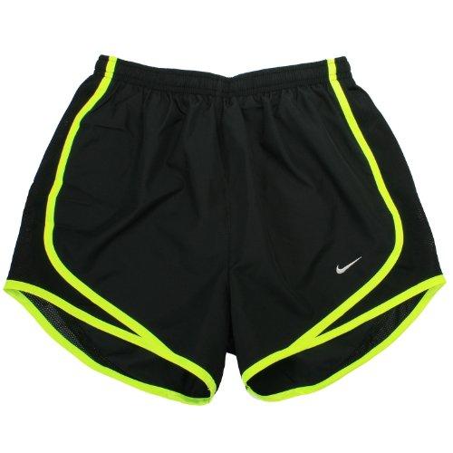 Nike Black Running Silver matte Shorts da Tempo volt r84TqnUrI