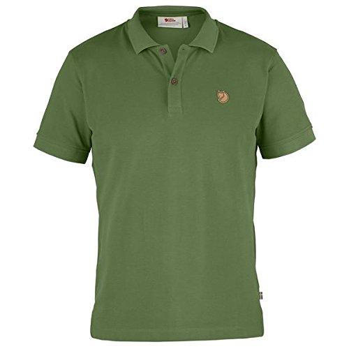 Fjällräven Herren M Övik Polo Shirt M, Fern, L (Bio-baumwoll-piqué Polo)