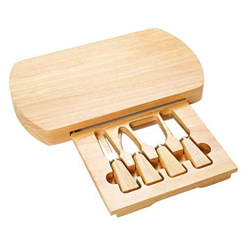Vengaconmigo Set Tabla Cuchillos Queso Tabla Quesos