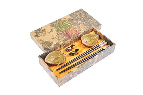 Abacus Asiatica: Edles Eßstäbchen-Set