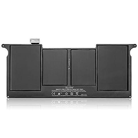 SLODA Laptop Ersatz Akku Notebook Batterie für Apple Unibody MacBook Air 11