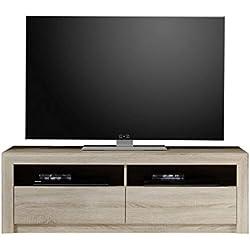 Maisonnerie 1415-314-45 Meuble TV Sevilla Chêne Sonoma Claire LxHxP 140x46x48 cm