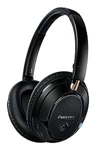 Philips SHB7250/00 Wireless Bluetooth Headphones (Black)