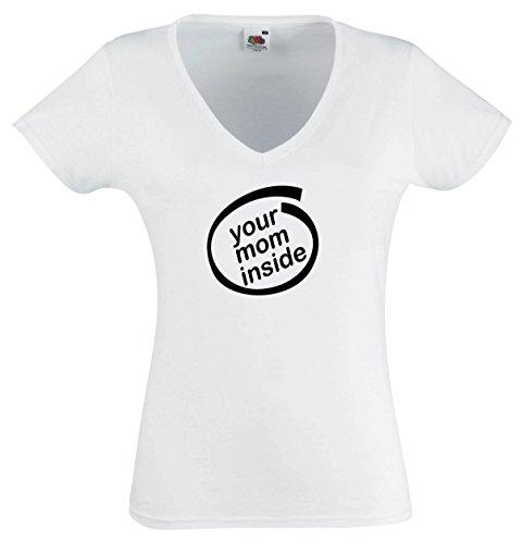 Black Dragon - T-Shirt Mann - Frau E002 - Disco Lights - Fasching Party Geschenk Funshirt - Bier Womens Light T-shirt