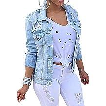 reputable site 792f3 fd0a8 Suchergebnis auf Amazon.de für: jeansjacke mit nieten