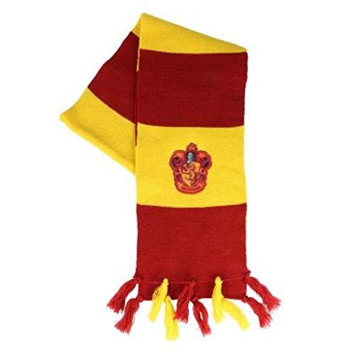ARTESANIA CERDA Bufanda Harry Potter Gryffindor, Rojo (Rojo 26), One Size (Tamaño del fabricante:One Size) para Niños