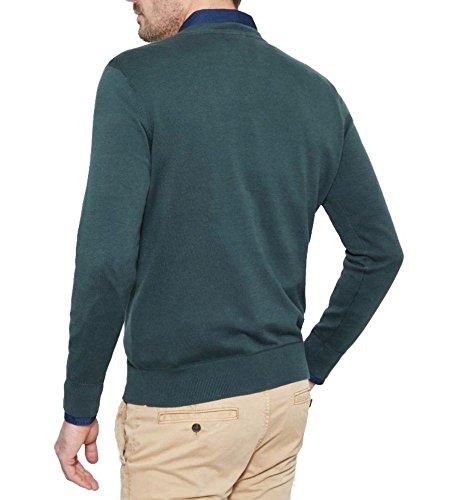 Timberland Clothing Herren Sport Pullover Williams River V Nec DARKEST SPRU