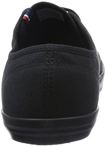 Le Coq Sportif Grandville, Sneakers Basses mixte adulte Noir (Black/Black)