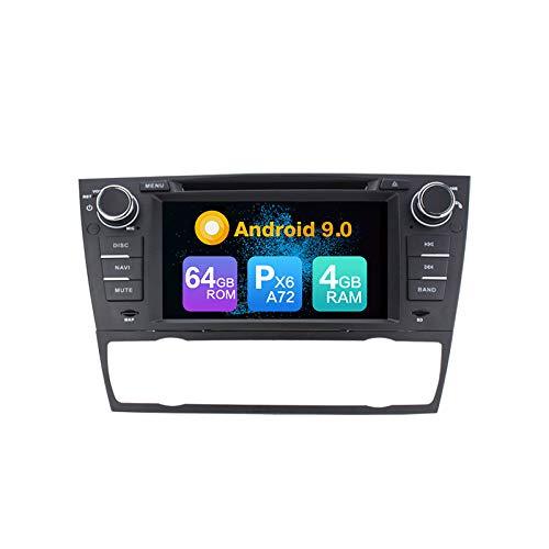 Android 9.0 PX6 Cortex A72 4G Ram 64G ROM Autoradio GPS Navegación...