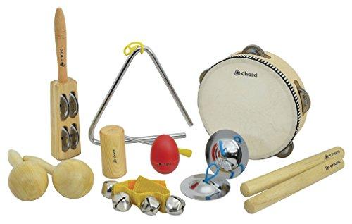 Chord cps09Hand Percussion Kit (9Stück)