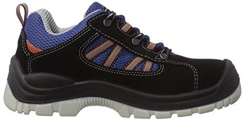 MTS Sicherheitsschuhe  Santos Base+ Check S3 Flex 4100, Scarpe antinfortunistiche Unisex – adulto Blu (Blau (blau/schwarz))