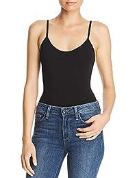 Mujer Camiseta Lisa Tirantes Espaguetti Interior con Sujetador Elástico sin  Mangas f21952ef220a