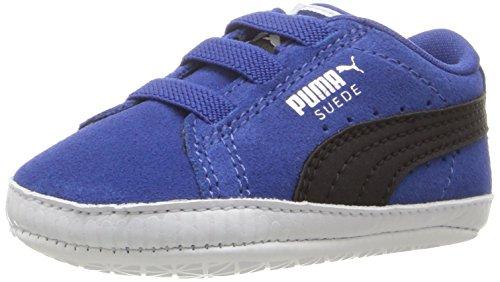 Puma Suede Crib Wildleder Turnschuhe True Blue-Puma Black