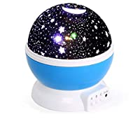 Baby Star Lights Projector, Night Light 3 Mode 360 Degree Rotating Lamp Color Changing for Kids Bedroom, Wedding, Birthday, Parties
