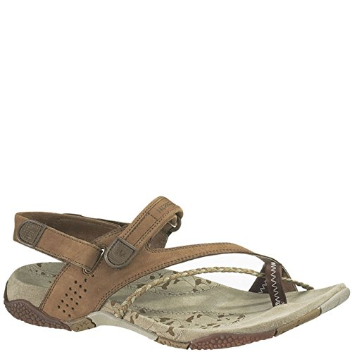 Merrell Womens Siena Light Brown Sandal Light Brown 36