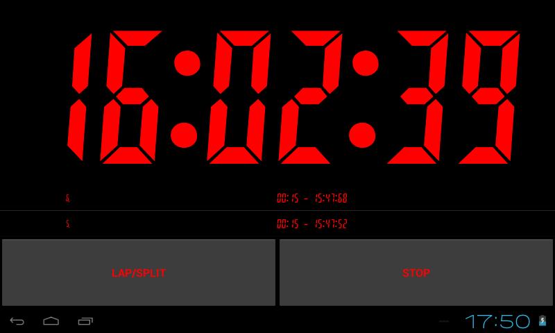 Chronom tre et minuteur appstore pour android - Chronometre et minuteur ...