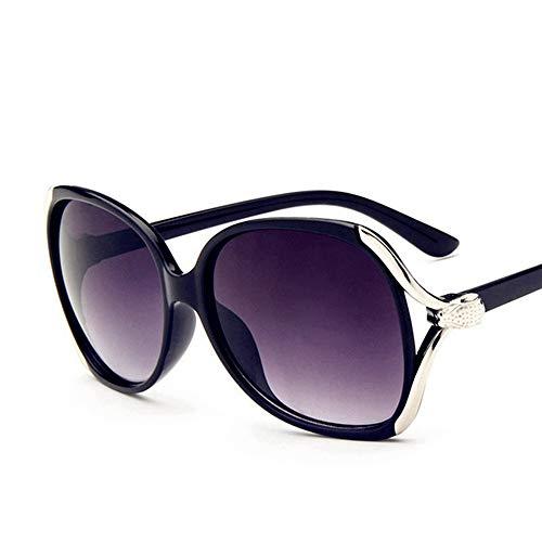 Sxuefang Sonnenbrillen für Dame Schild Übergroßen Designer Großen Rahmen Retro Vintage Fahren UV400 Schutz Brillen Weiblichen Glas