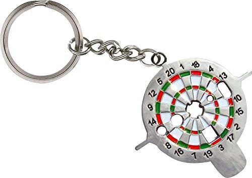 Kings Dart Dart-Universalwerkzeug | Dart Multi-Tool zur Reparatur von Pfeilen u. Schäften | Praktischer Schlüsselanhänger mit 6 Funktionen | nur 15 g | Markenqualität