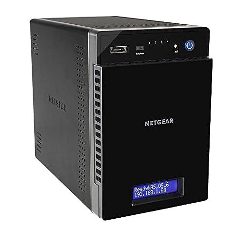 NETGEAR RN31400-100EUS ReadyNAS 314 NAS-System (8,9 cm (3,5 Zoll), Intel Atom D270x, 2,1GHz, 2GB RAM, 4-Bay Diskless, SATA II, HDMI, 2x USB 3.0)