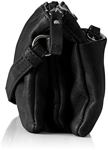 Tamaris - Franca Crossbody Bag S, Borse a tracolla Donna Nero (Black)