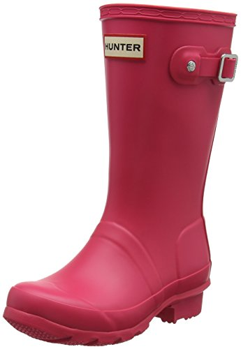 Hunter Mädchen Wellington Boots Gummistiefel, Pink (Pink Rbp), 33 EU (Kinder Original Hunter Stiefel)