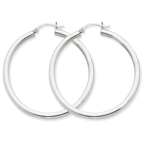 10k-oro-bianco-tre-millimetri-rotonda-orecchini-ad-anello-da-ukgems-10k-white-gold-3mm-round-hoop-ea