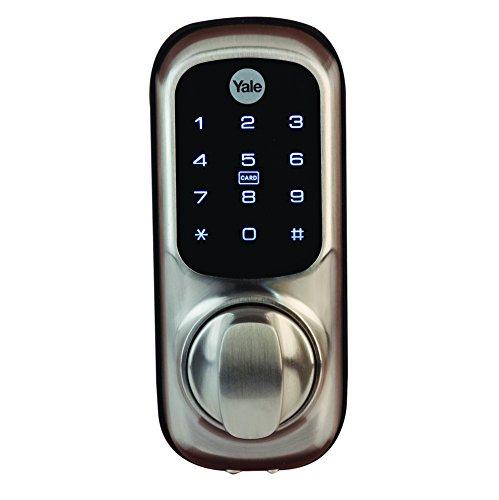 Yale Smart Living YD-01-CON-NOMOD-SN Keyless Connected Ready Door Lock, Satin Nickel