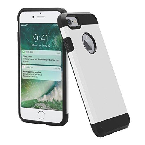 GHC Cases & Covers, Für iPhone 7 Trennbares Corselet TPU + PC Kombi-Gehäuse, Kleine Menge Empfohlen vor iPhone 7 Starten ( Color : Pink ) White