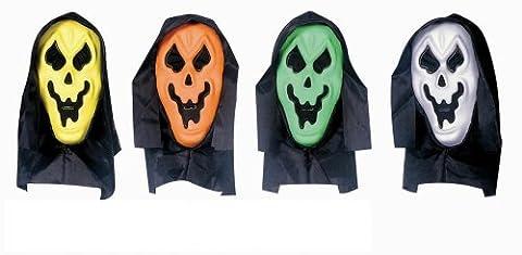 Geistermaske Schrei farbig sortiert [Spielzeug] (Duo Kostüme Ideen)