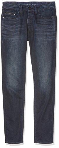 Calvin Klein Jeans Herren Jeanshose Taper-Sake Blue Blu (Sake Blue 913)