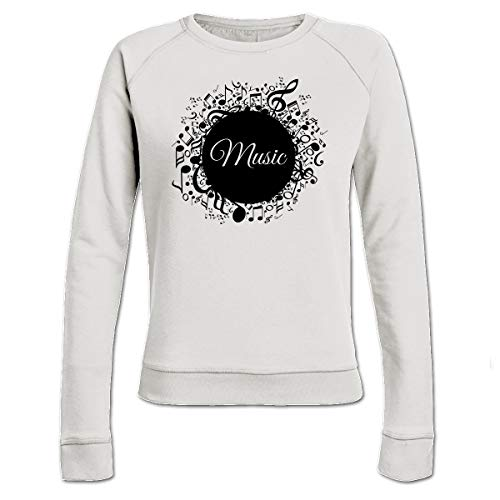 ment with Notes Frauen Sweatshirt by ()