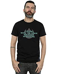 Star Wars Homme Rogue One I'm One With The Force Green T-Shirt