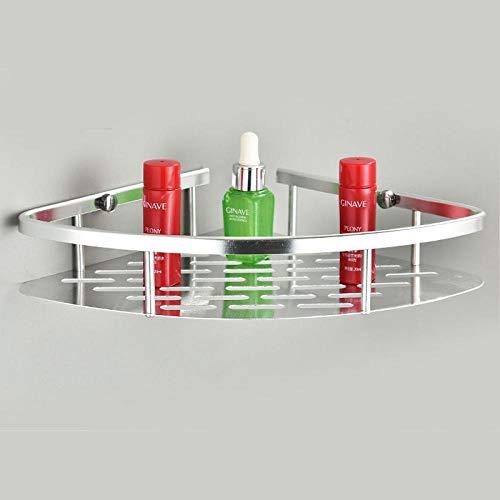 Joeesun accessori per il bagno scaffale da bagno ad angolo libero punch sanitari da bagno scaffale in alluminio scaffale da cucina con treppiede