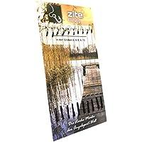 Zite Fishing Carp Boilie Bait Rig Set - Gancho de Pesca de línea Trenzada Giratorio - 10 Piezas #2-10