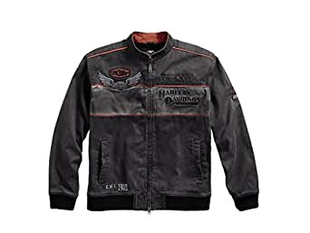 Harley Davidson Men's Iron Block Casual Jacke, 98577-17VM, S